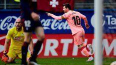 Cosas del 10. El rosarino gritó los últimos dos goles del Barsa en la liga. Convirtió 36 de los 90 del equipo blaugrana.