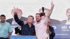 El candidato del Frente Justicialista Pampeano (Frejupa), Sergio Ziliotto, se consagró gobernador de La Pampa.