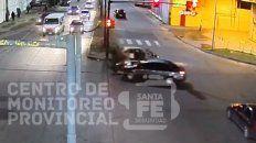 Un video muestra un impactante choque en Mendoza y Circunvalación
