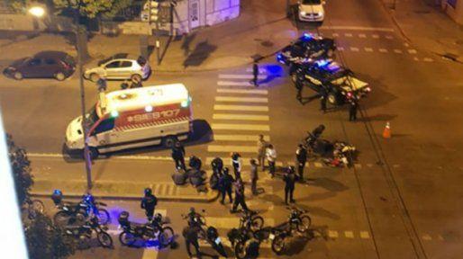 El ataque se produjo en Maipú y Pellegrini en la madrugada del último viernes.