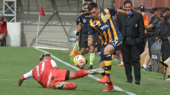 Chileno. El Poncho Parot hizo un gol ante Argentinos y sueña con volver a la selección.