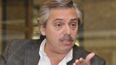 Cristina probará que la imputación es falsa, dijo Alberto Fernández