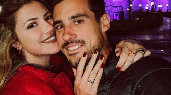 Stephanie Demner y Guido Pella anunciaron su casamiento