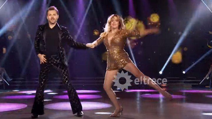 Sofía Pachano y Dan Breitman la rompieron en el Bailando