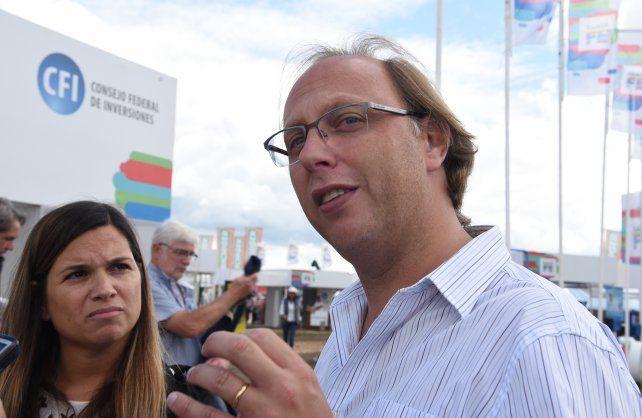 Saglione: Santa Fe hace obras con fondos propios