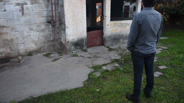 El lugar donde murió Juan Cruz Vitale