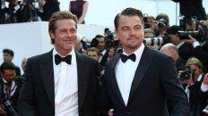 Galanes. En la alfombra roja, Pitt y DiCaprio eclipsaron a las demás estrellas.