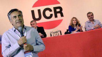 El presidente. Alfredo Cornejo, titular de la UCR a nivel nacional.