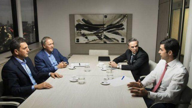 Cena entre Schiaretti, Massa y Urtubey en la previa de la cumbre