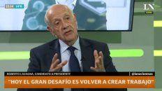 Lavagna explicó su fórmula para bajar la inflación