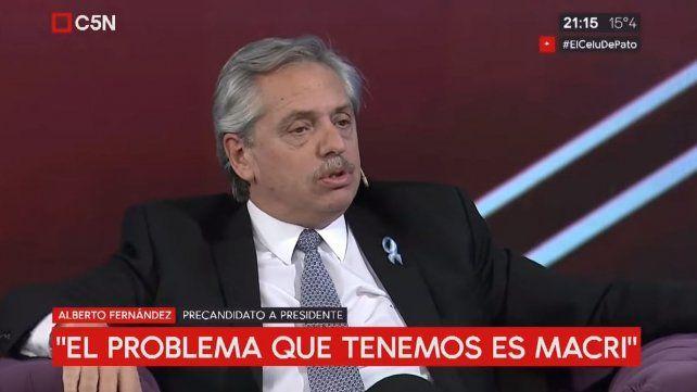 Alberto Fernández: Los jueces deben hacerse responsables de lo que dicen