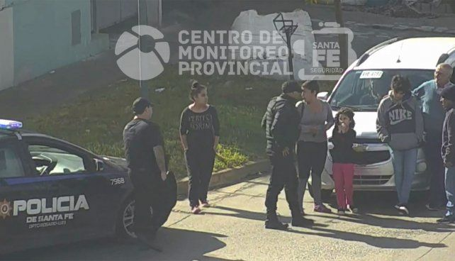 Impactante video de un chico atropellado por un auto en Seguí y Provincias Unidas