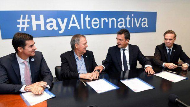 Alternativa Federal se reunió sin Lavagna y convocó a una interna amplia