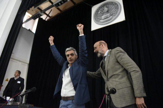 El nuevo rector de la Universidad Nacional de Rosario