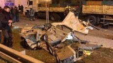Cuatro adolescentes murieron al chocar en una persecución policial