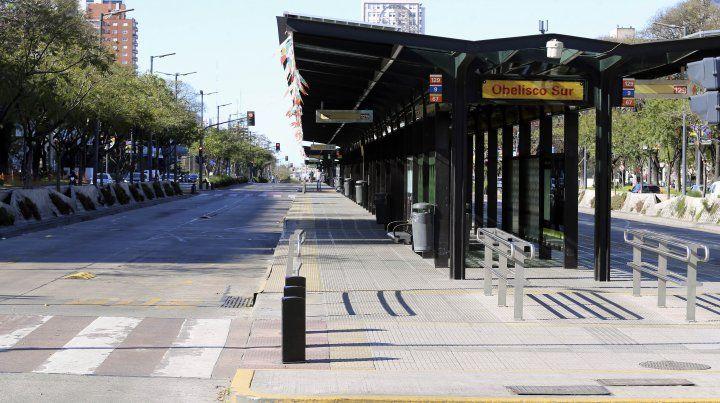 No habrá transporte urbano ni el sábado ni el miércoles
