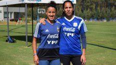 Dos rosarinas, al Mundial de fútbol femenino