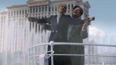Celine Dion y James Corden hacen Titanic con aguas danzantes