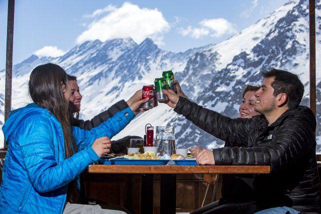 El centro de ski Portillo cumple siete décadas