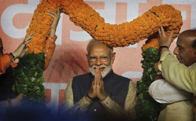 India respalda en las urnas el nacionalismo promercado del premier Narendra Modi