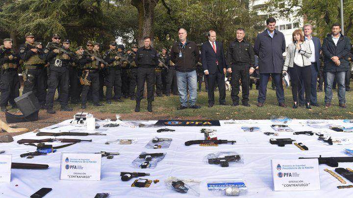 Confirman que 24 armas incautadas no se usaron contra el Poder Judicial