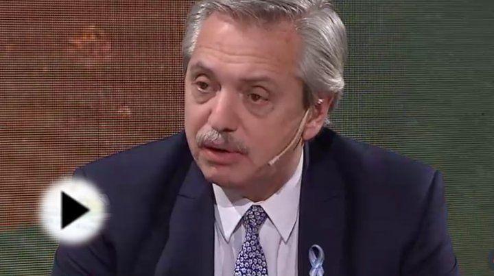 Alberto Fernández: Ya hemos sumado medio bloque de Massa