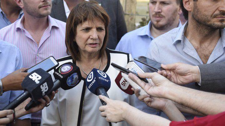 Bullrich aseguró que la provincia desde el primer día quiso voltear el Operativo Contrafuego