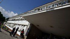 El Hospital Eva Perón donde fue llevado el chico gravemente herido.