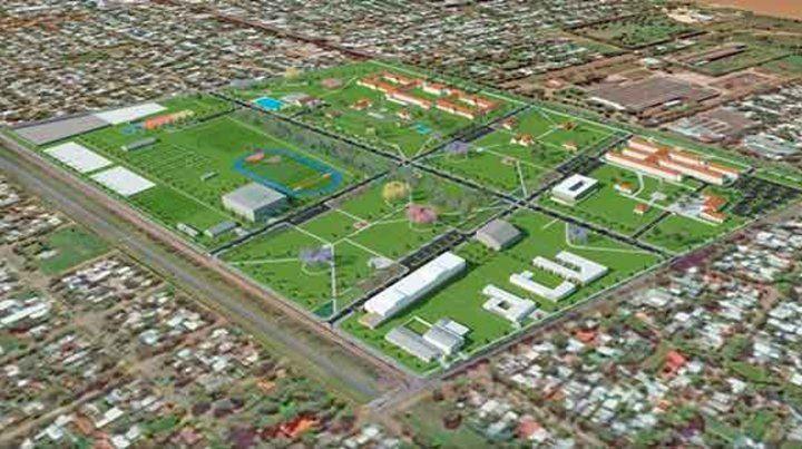 Área estratégica. El imponente terreno de 53 hectáreas que será sometido a una operación urbanística.