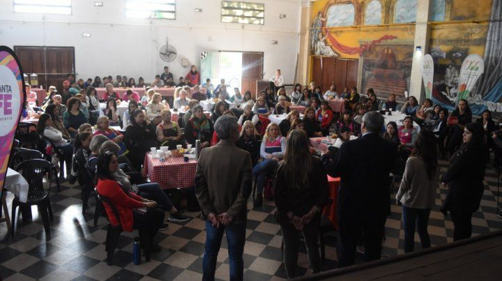 Mejor salud. El encuentro en la Casa de la Cultura de Villa G. Gálvez.