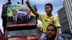 Manifestaciones en Brasil para darle su respaldo a Bolsonaro
