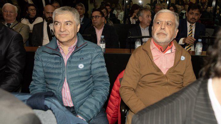 El exministro de Planificación Julio De Vido y el empresario Lázaro Báez.