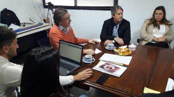 Confirmación. Tras la visita a Melincué del ministro de Infraestructura, León Garibay, la provincia hará la licitación.