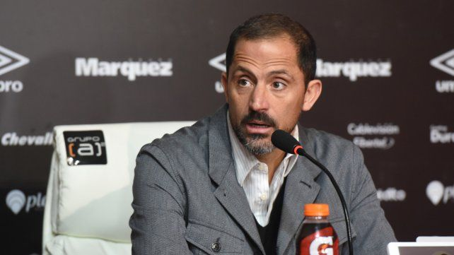 A fondo. El director deportivo dijo que el club se encuentra en condiciones de reforzarse mejor.