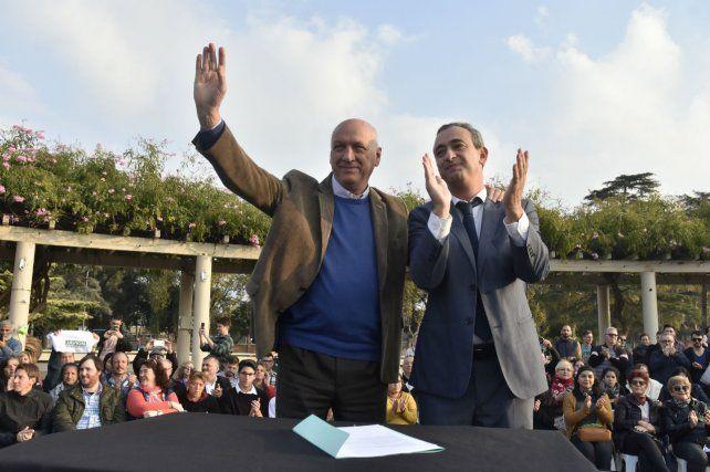 Bonfatti y Javkin sellaron un acuerdo para trabajar sobre ejes comunes.