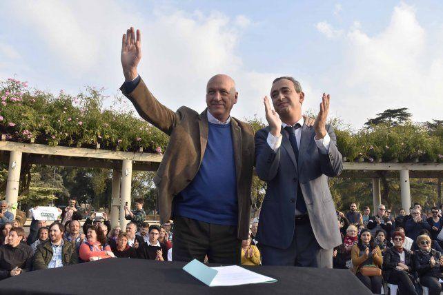 Javkin y Bonfatti acordaron medidas clave para Rosario