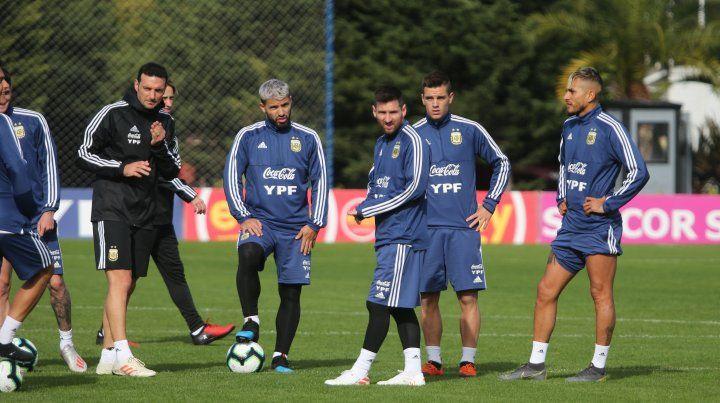 Messi entrenó y ya les cambió la cara a todos