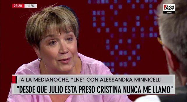 La esposa de De Vido dijo que Cristina tuvo un gesto inhumano