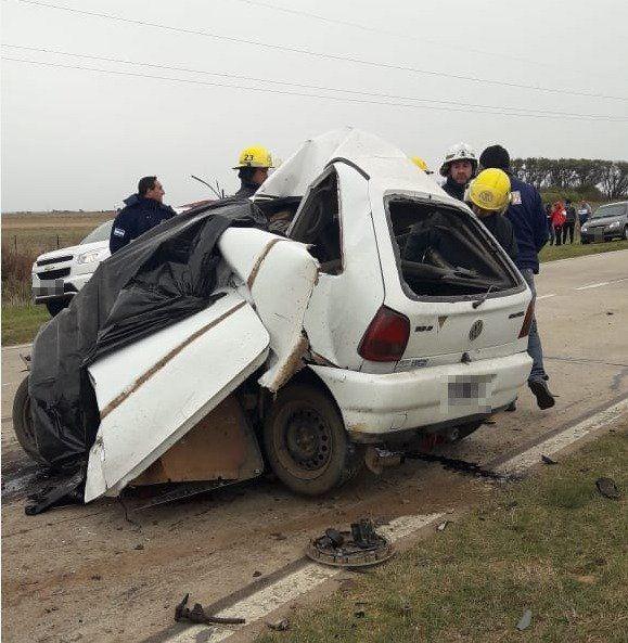 Un hombre de 33 años murió en un impactante choque en la Ruta 94