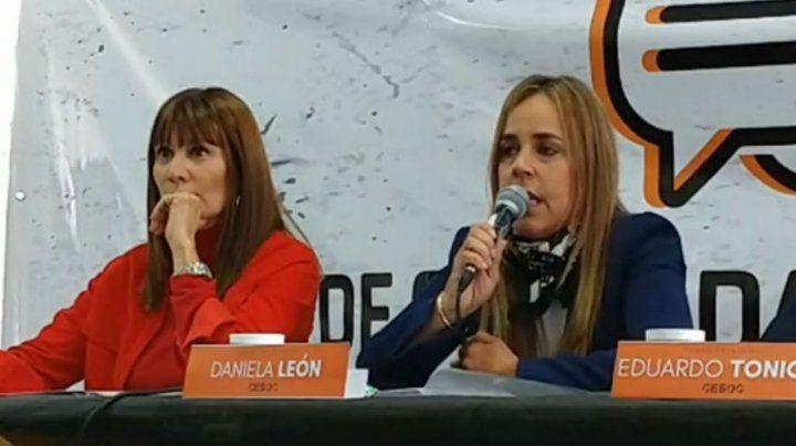 Susana Rueda (Frente Progresista) y Daniela León (Cambiemos) se cruzaron duro.