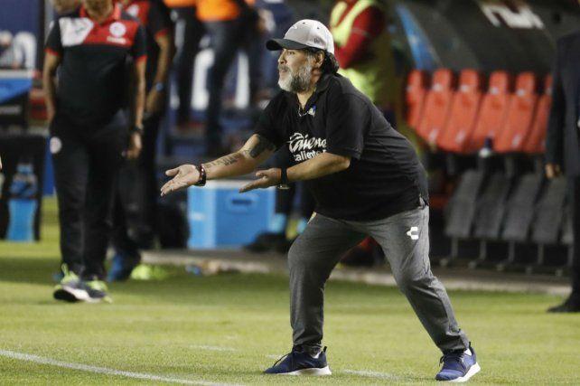 El DT. Diego dirige a Dorados de Sinaloa