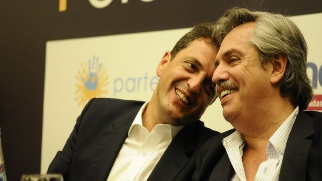 Alberto Fernández y Sergio Massa