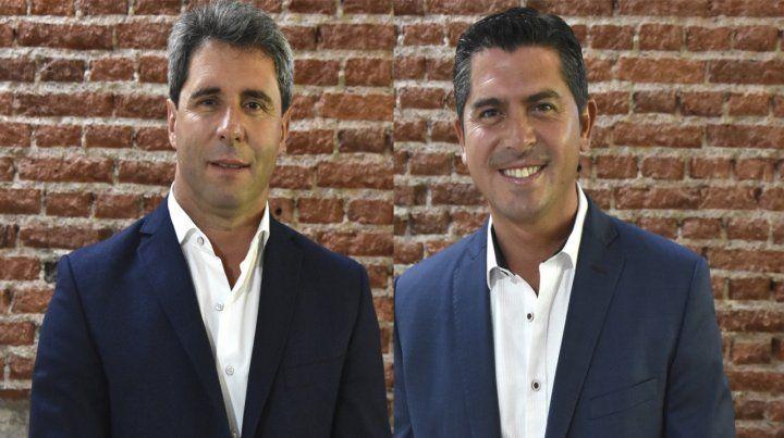 San Juan. Sergio Uñac (PJ) y Marcelo Orrego (cercano a Cambiemos).
