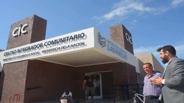 El CIC tiene 500 metros cuadrados cubiertos y una variada oferta de servicios sociales.