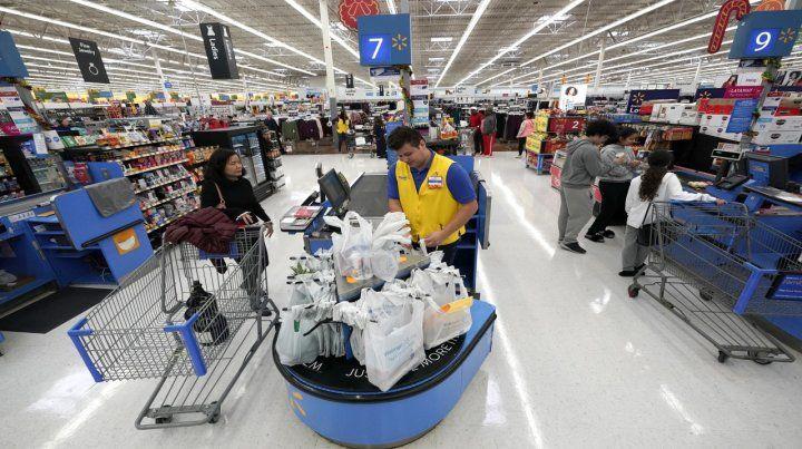 En peligro. Un Wal Mart en Houston. El consumo masivo sufrirá.