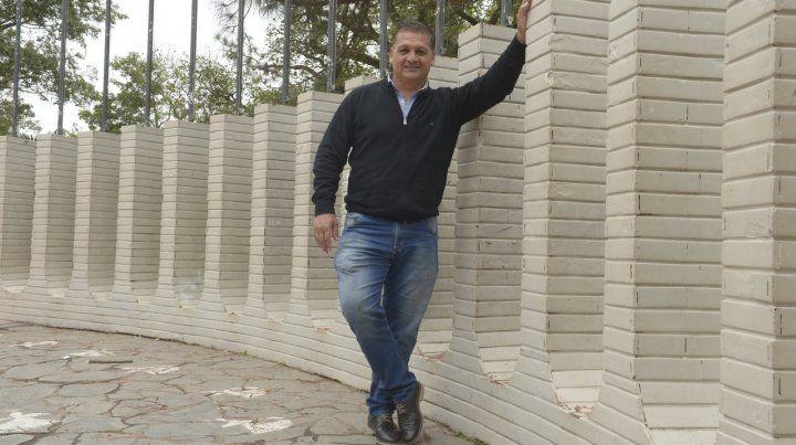 El exjugador canalla es presidente comunal en Sauce Viejo.