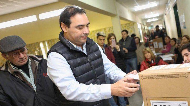 Valdés. El gobernador celebró la victoria del frente Encuentro por Corrientes.