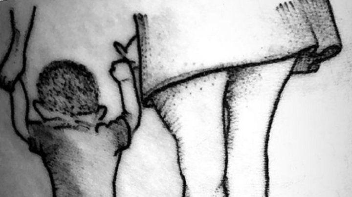 Morena Rial reveló el tatuaje que se hizo en homenaje a su hijo