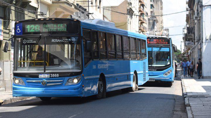 Trabajo dictó la conciliación obligatoria y mañana habrá colectivos en Rosario