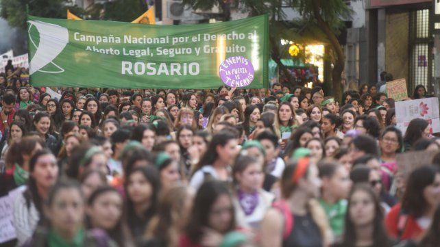 Convocatoria. Una gran cantidad de gente salió a las calles para gritar ¡Vivas nos queremos!.